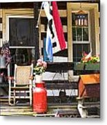 Little Piece Of America Metal Print by John Holloway