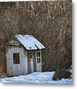 Little Play House Metal Print