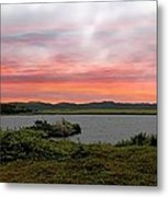 Little Pond Near The Ocean Panorama Metal Print