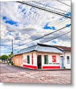 Little Pulperia On The Corner - Costa Rica Metal Print