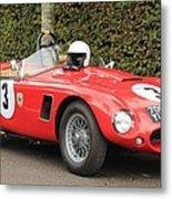 Little Red Ac Bristol Racer Metal Print