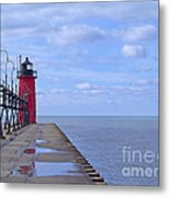 Little Red Light Metal Print