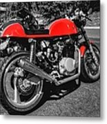 Little Red Racer 001 Metal Print