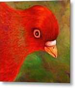Little Red Metal Print by Terry Jackson