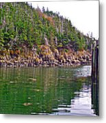 Little River In Digby Neck-ns Metal Print