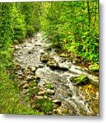 Little River - Smoky Mountains Metal Print