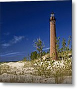 Little Sable Point Light No.0285 Metal Print