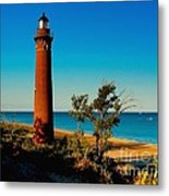 Little Sable Point Metal Print