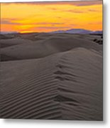 Little Sahara Metal Print