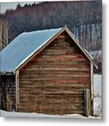 Little Shed In The Valley Metal Print