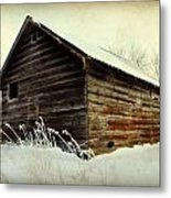 Little Shed Metal Print