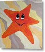 Little Starfish Metal Print