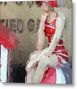 Little Toy Shop Princess Metal Print by Steve K