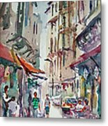 Little Trip At Exotic Streets In Istanbul Metal Print