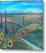 Little Tuscany Metal Print