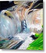Little Waterfall Metal Print