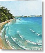 Litttle Cove Beach Noosa Heads Queensland Australia Metal Print