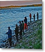 Liturgy Of The Salmon Fishing. Doctor Andrzej Goszcz. Metal Print