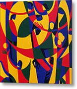 Live Adventurously Metal Print by Ron Waddams