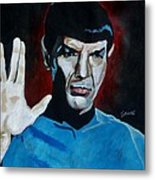 Live Long And Prosper Metal Print by Jeremy Moore