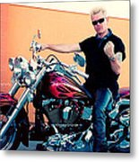 Live Strong Live Free Metal Print by Kip Krause
