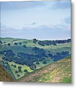 Livermore Hills Metal Print
