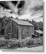 Livery Barn 17834 Metal Print