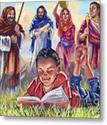 Living Bible Metal Print