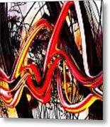 Living Color Metal Print