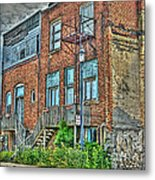 Living Downtown Up North Metal Print by MJ Olsen