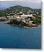 Living High In Saint Thomas Metal Print