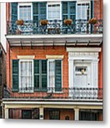 Living High In The French Quarter Metal Print