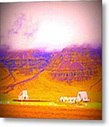 We Are Living Hillside As We Used To Do, Feeling Safe  Metal Print