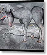 Living In A Pinched World Metal Print