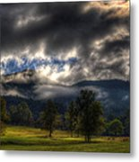 Living In The Clouds Of Western North Carolina Metal Print