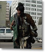 Living In The Streets Metal Print