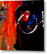 Living is easy with eyes closed Metal Print