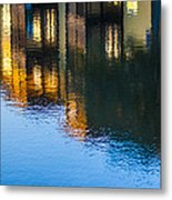 Living On The Water - 3 Metal Print