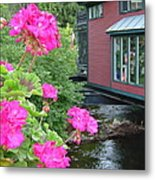 Living Over The River Metal Print
