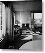 Living Room In Mr. And Mrs. Walter Gropius' House Metal Print