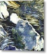 Living Water 3 Metal Print