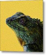 Lizard Metal Print by Karen Walzer
