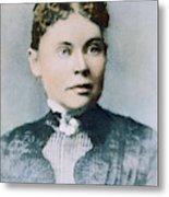 Lizzie Andrew Borden (1860-1927) Metal Print