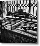 Llanberis Slate Museum - Workshop 1 Metal Print