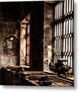 Llanberis Slate Museum - Workshop 2 Metal Print