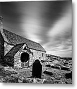 Llangelynnin Church Metal Print by Dave Bowman