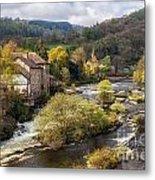 Llangollen And The River Dee Metal Print
