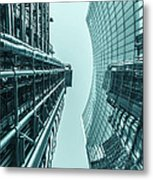 Lloyds Reflected Metal Print