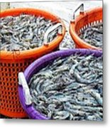 Loaves And Fishes Metal Print