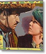 Lobby Card Viva Villa Wallace Berry Fay Wray 1934-2013 Metal Print